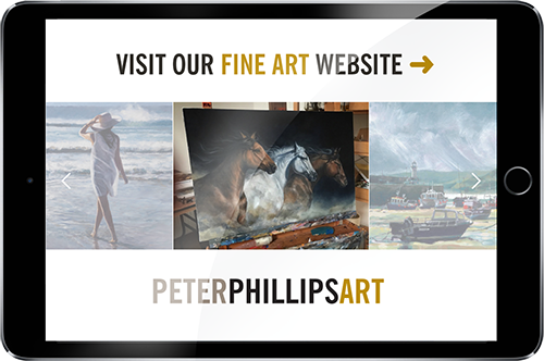 Peter Phillips Art website